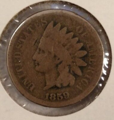1859 indian head cent 212