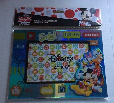 DISNEY'S MICKEY MOUSE & Friends MAGNETIC PICTURE SELFIE FRAME - New