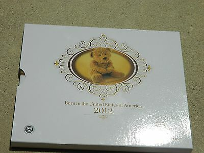 Us Mint Born In The Usa 2012 Proof Coin Set