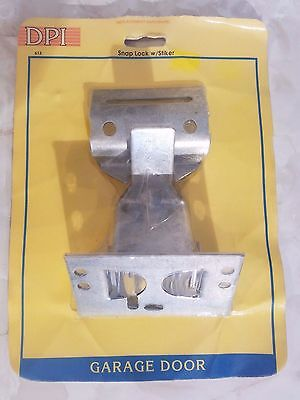 NEW SEALED Galvanized Steel Snap Spring Door Latch Lock With Strike Slide-CO/DPI