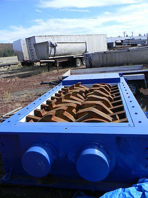 Zero Time SSI 6000HD Dual Shaft Shredder Located Pacific Northwest 400 HP