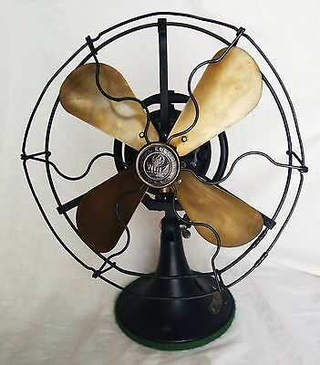 "Old 1920´s GE WHIZ oscillating General Electric FAN ""for restoration"""