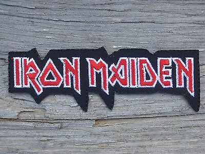 ECUSSON PATCH THERMOCOLLANT aufnaher toppa IRON MAIDEN groupe rock musique hard