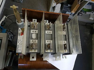 Siemens 3Kl61 - 400A - 600V-Ac 3P Disconnect Switch