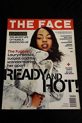 The Face magazine Vol 2 No 97 Oct 1996 Lauryn Hill, Pamela Anderson Lee