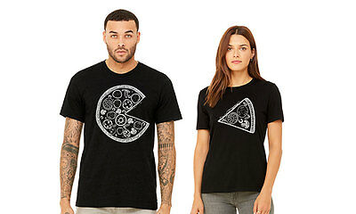 Pizza Slice Matching Couple Funny Love Set His Her T-Shirt T Shirt Tee TShirt