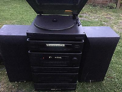 KENWOOD RX-28 Stereo Radio Cassette Receiver 5 CD CHANGER HOME SOUND SYSTEM UK
