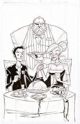 """2010, Rob Guillory, Chew: """"just Desserts"""", Trade Paperback Volume #3 Cover"""