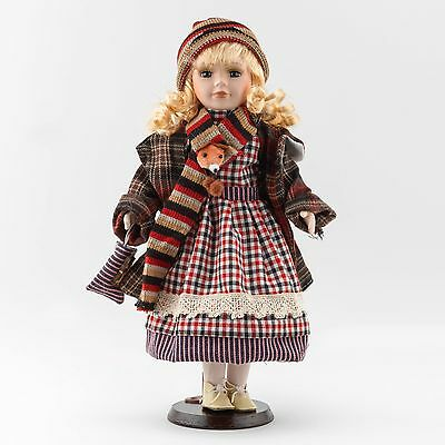 "Beautiful 16"" porcelain Doll The Shannon Collection"