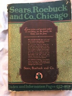 Vintage Sears CATALOG #144 1922. Full Of Interesting Things Several Color Pages