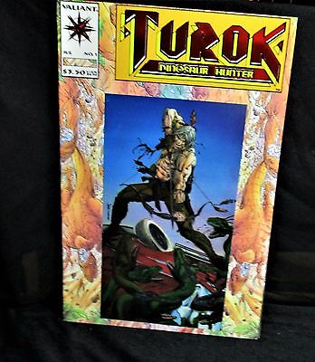 """Turok Dinosaur Hunter"" #1 Comic Book (1993, Valiant)"