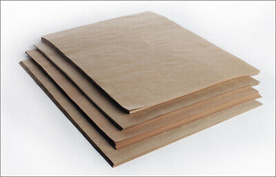 Brown Packaging Kraft Paper Ream 500x750mm Packing Wrapping 80gsm - 250 Sheets
