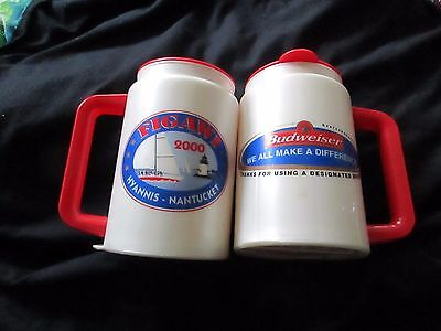 2000 Figawi Race Mug cups lot 2 boat drink drinking sailing  yachting Budweiser