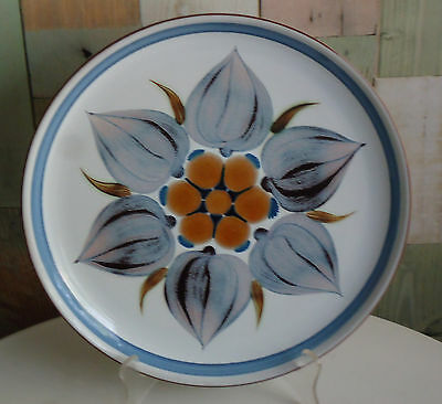 Lovely Vintage Langley England Ironstone Pottery Dinner Plate *Chatsworth