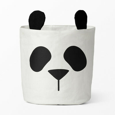 Large Sweet Kids Giant Panda Animal Toys Organizer Sundries Storage Bag Barrel