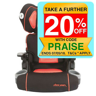 Disney Cars The First Years Folding Booster Seat/4 to 8yo/Cup Holder/Car/Kids