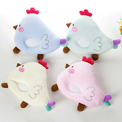 Cute Chicken Baby Newborn Sleep Pillow Positioner Prevent Flat Head Anti Roll SG