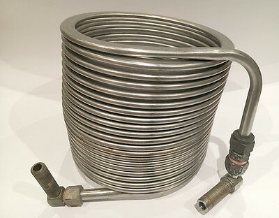 Stainless Steel Beer Cooling Coil - Jockey Box - Very Good Condition   #2