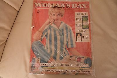 Vintage Woman's Day Magazine-March 7th 1959