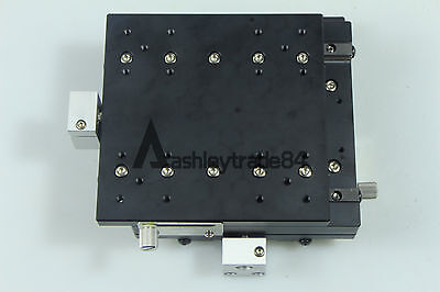 XY-Axis LY125-C Stage Manual Slide Table Trimming platform 125*125mm 57.5mm