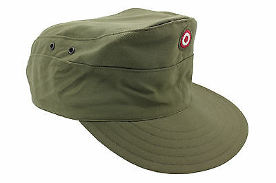 Genuine Austrian Army Issued Olive Drab Field Cap Grade 1 Surplus