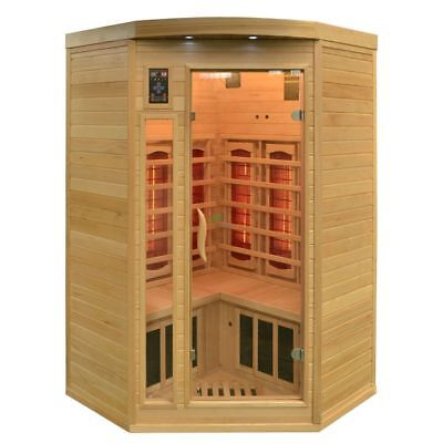 Infrared Cabin Arendal Sauna Full Spectrum Devices DUALTHERM Heat Cabin