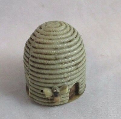 Antique celluloid BEE HIVE TAPE MEASURE ; c1920's,  RaRe