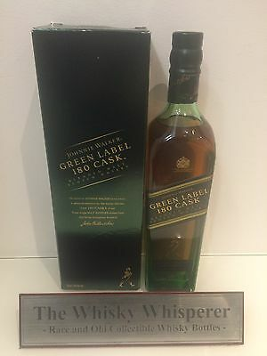 JOHNNIE WALKER 700ml 180 Cask Green Label - Limited Edition Scotch with Box
