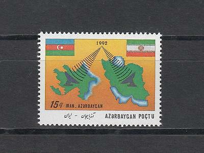 Azerbaijan Aserbaidschan MNH** 1993 Mi.111 Joint Issue Communication