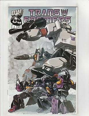 Transformers Generation One (2003) #1 NM- 9.2 Decepticons Cover Dreamwave Comics