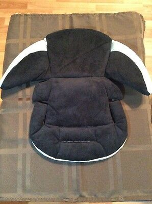 Evenflo Newborn Car Seat Cushion And Body Support Car Seat Carrier Black Silve