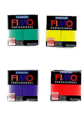 FIMO PROFESSIONAL 85g 8004 / 8027 POLYMER MODELLING - MOULDING OVEN BAKE CLAY