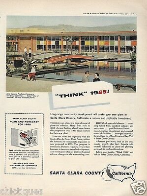 1961 IBM General Products Div SAN JOSE Calif Voted 1 Most Beautiful Plant Vtg Ad