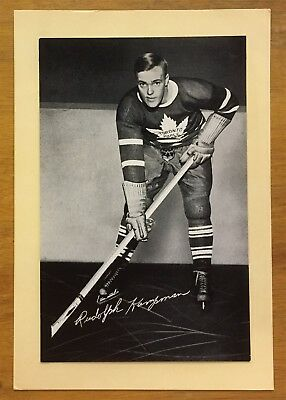 Group 1 Beehive Rudolph Kampman Toronto Maple Leafs