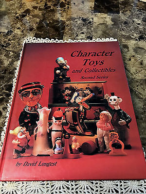 Character Toys and Collectibles Hard Back Book , 2nd Series by David Longest