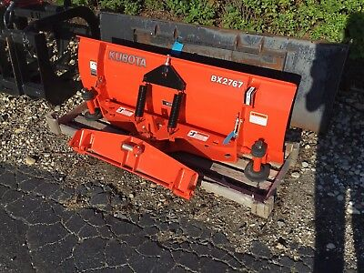 New Kubota BX2767 Snow Blade For BX70 Series Tractor w/Quick Coupler