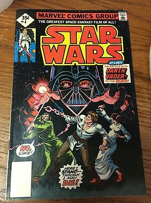 Star Wars #4from Marvel Comics (1977) reprint!! FN-!!