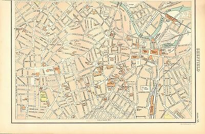 1898 Victorian Town Plan - Sheffield