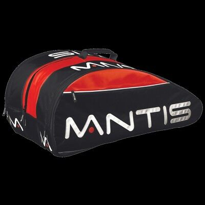 Mantis Thermo 6 Racket Bag - Red / Black (Tennis / Badminton / Squash)