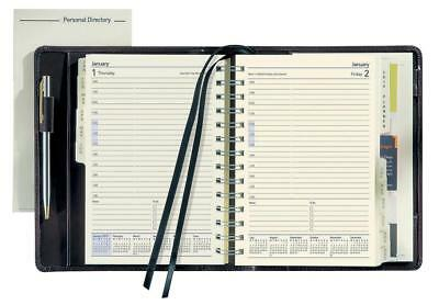 Collins 2018 Elite Executive Business Diary Day To a Page Black 1100V 2018