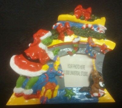 Grinch Picture Frame Christmas 2000 Universal