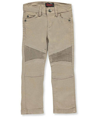 Chams Little Boys' Toddler Stretch Moto Jeans (Sizes 2T - 4T)