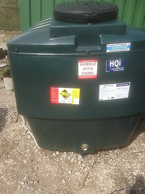 1400 Litre  Bunded Heating Oil Tank Free Delivery Insurance Backed Gaurantee