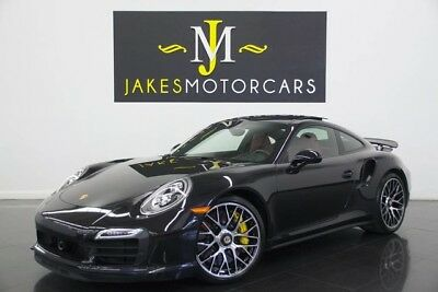 2014 Porsche 911 Turbo S Coupe ($194K MSRP) 2014 Porsche 911 Turbo S, $194K MSRP! BASALT BLACK ON RED, 14K MILES, 1-OWNER!