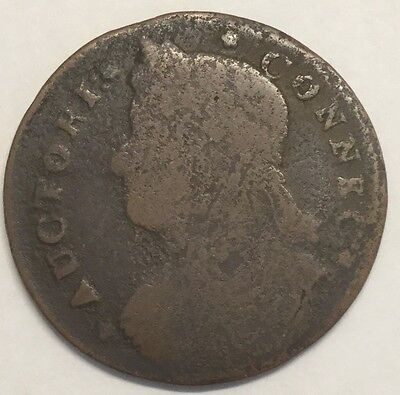 1787 Conn. Colonial Draped Bust Left#