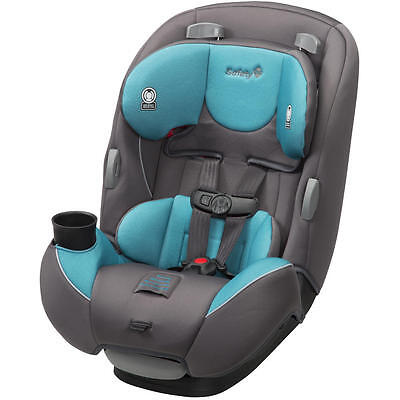 Safety 1st Continuum 3 in 1 Baby to Toddler Convertible Car Seat, Sea Glass NEW
