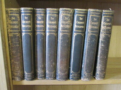 The Children's Encyclopaedia Volumes 1 - 8 Complete Arthur Mee (Ed.) Undated Hal