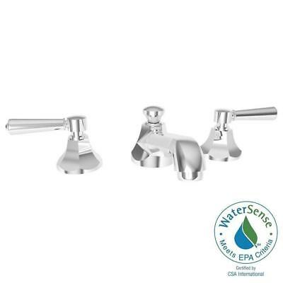 Newport Br Metropole 8 Widespread Bathroom Faucet In Polished Chrome 1200 26