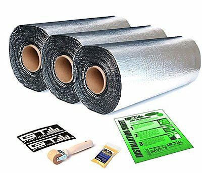 GTMat 50mil 30sqft Car Deadener Heat Noise Shield Mat w/ Dynamat Xtreme Sample