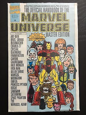 Official Handbook Of The Marvel Universe Master Edition #15 NEW-SEALED Iron Man